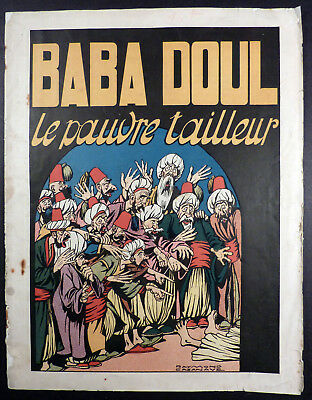 Baba Doul Le pauvre tailleur Cazanave Ed. SGPI 1943 BE