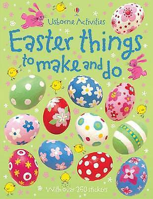 Easter Things to Make and Do, Usborne Sticker Activity Book