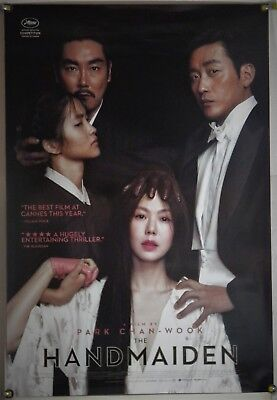 The Handmaiden Ds Rolled Orig 1Sh Movie Poster Chan-Wook Park Min-Hee Kim (2016)