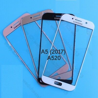 Front Outer Screen Glass Lens Replacement For Samsung Galaxy A5 2017 A520F A520