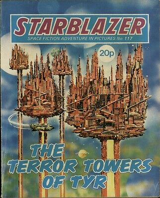 The Terror Towers Of Tyr,starblazer Space Fiction Adventure In Pictures,no.117