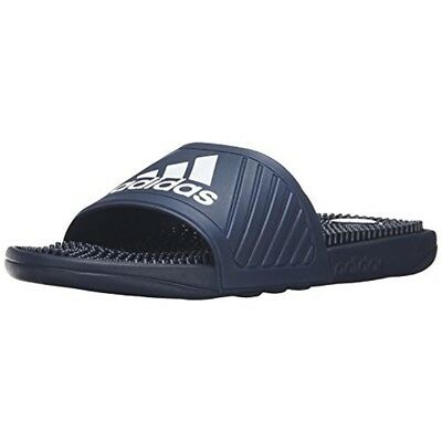 1d5544309 NEW - Adidas 2397 Mens Voloossage Navy Slide Sandals Size 9 - NEW W out