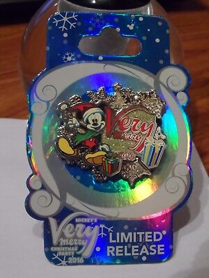 Mickey's Very Merry Christmas Party Limited Release 2016 Disney Pin NEW BUY NOW!