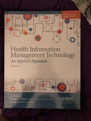 Health Information Management Technology An Applied Aporoach Fifth Ed