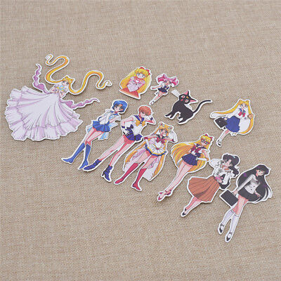 Sailor Moon Posted Stickers Animation Art Character Kawaii Anime Hot 10X Random