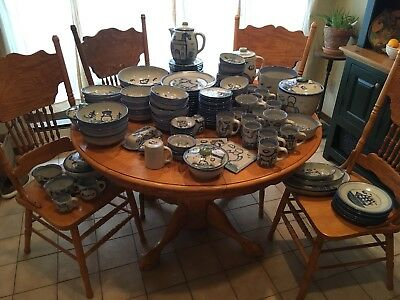 M.A. Hadley Pottery 150pcs Set