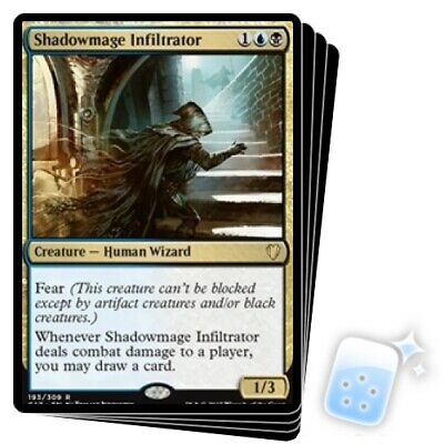 SHADOWMAGE INFILTRATOR Magic ODY Mint INCURSORE MAGO D/'OMBRA