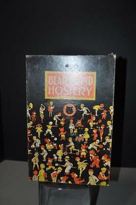Bear Brand Hosiery Advertising Box Children