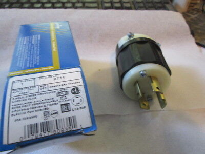 LEVITON male power plug ,2711. L14-30P  part 120/250VAC Male twist lock