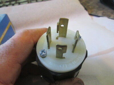 LEVITON male power plug ,2721. L15-30P  part 120/250VAC Male twist lock