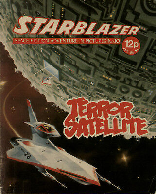 Terror Satellite,starblazer Space Fiction Adventure In Pictures,no.10,1979
