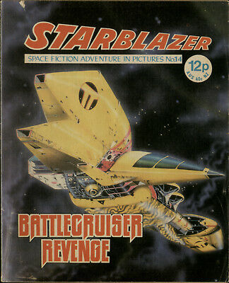 Battle Cruiser Revenge,starblazer Space Fiction Adventure In Pictures,no.14,1979