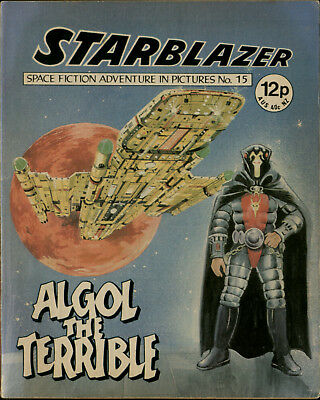 Algol The Terrible,starblazer Space Fiction Adventure In Pictures,no.15,1979