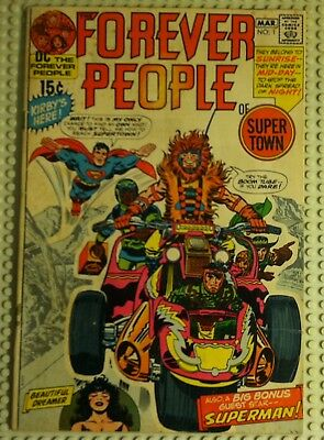 Dc Comics The Forever People # 1 1St Full Appearance Of Darkseid