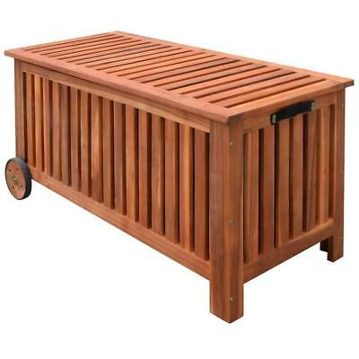 Wooden Outdoor Garden Patio Storage Toys Cushions Tools Cabinet Box Container