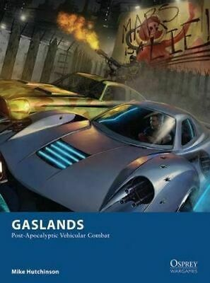 NEW Gaslands By Mike Hutchinson Game Free Shipping
