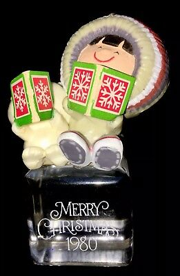 1980 Frosty Friends  Cool Yule Hallmark Christmas Ornament 1st in Series QX137-4