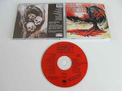 POLLUTED INHERITANCE Ecocide CD 1992 DEATH VERY RARE ORIGINAL 1st PRESSING WVR!!
