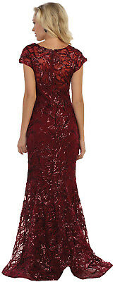 NEW DESIGNER MOTHER of GROOM DRESS FORMAL PLUS SIZE GALA EVENING GOWN RED  CARPET
