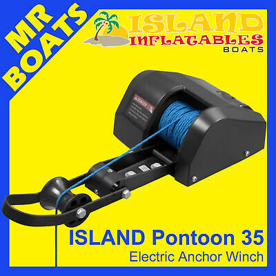 ANCHOR DRUM WINCH ✱ ISLAND PONTOON ✱ Model 35 12V Boats up to 22ft 7m FREE POST