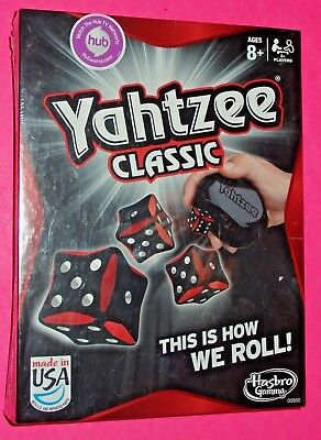 Yahtzee Classic Original Family Board Game from Hasbro Gaming 00950 NEW