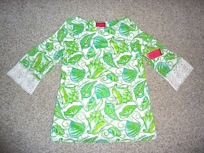 NWT $228 Lilly Pulitzer Jubilee Seashell Print rodeo Tunic Medium M