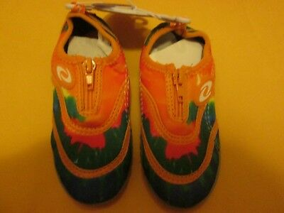 8067381ee50a Frisky Kid s Water Shoes Orange Multi Color New No Box Size 8