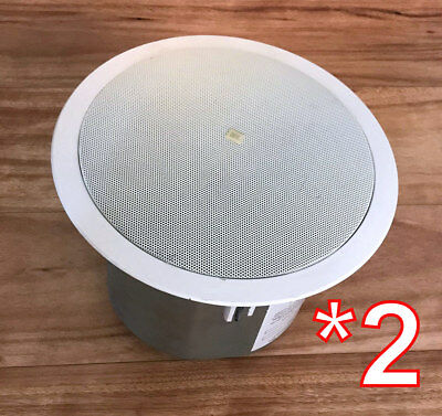 "JBL Control 26C PRO 6.5"" 2 Way in Ceiling Speaker white PAIR >you get 2 speakers"