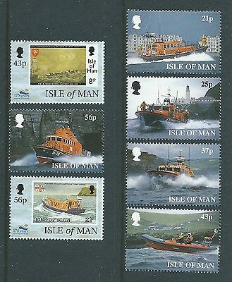 Isle Of Man 1999 Royal National  Lifeboat Instition Unmounted Mint, Mnh