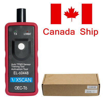 CA Ship VXSCAN EL-60448 TPMS Tire Sensor Reset Training Relearn Tool for Ford