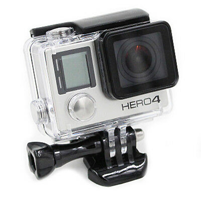 45 m Waterproof Dive Transparent Protector Cover Case Housing For GoPro Hero 4