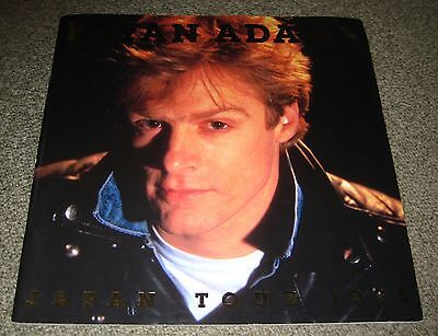 BRYAN ADAMS rare JAPAN tour book - 1985 - other concert programmes listed too!