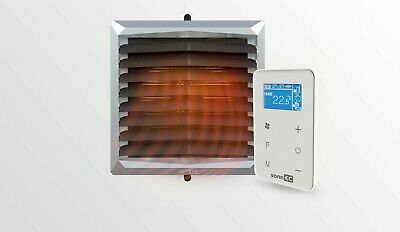 sonnEC 1 Air Heater + controller HMI EC motor industrial heating