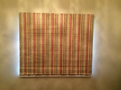 ROMAN BLIND - HIGH QUALITY - FULL BLOCK OUT: 1450 width x 1225 Drop