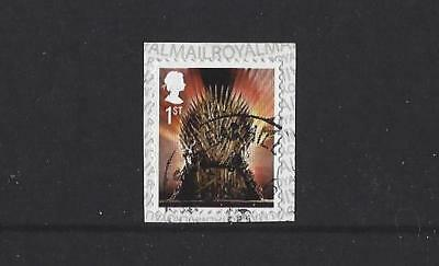 Great Britain 2018 Game Of Thrones  Booklet Stamp Fine Used
