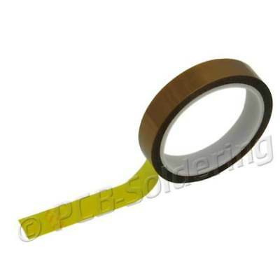 19mm High Temperature Heat Resistant Polyimide Kapton BGA Tape silicone adhesive