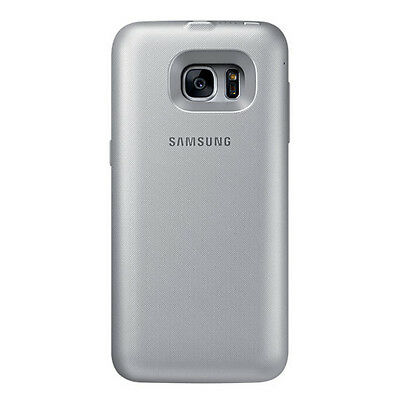 100%New Genuine Samsung Galaxy S7 Backpack Battery Case Capacity 2,700mAh Silver