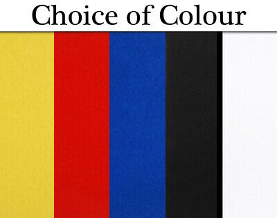 A4 Sticky Back Stiffened Craft Felt Sheet  - Choice of Colours
