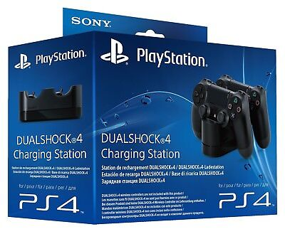 PS4 - Dual Shock 4 Charging Station / Original Ladestation für 2 Pad (mit OVP)