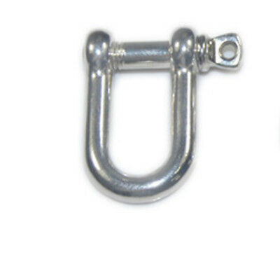 Set Shape Pcs,color:silver) Steel Pro Shackle For Paracord Bracelet U Stainless