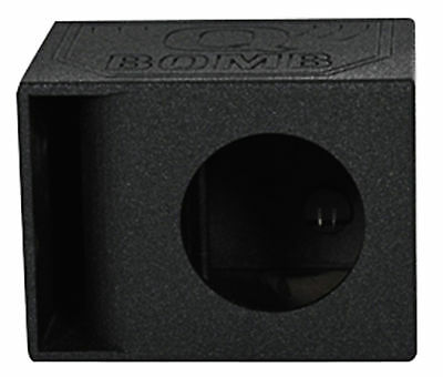 "Rockville RQB12HP Single 12"" Horn Ported Subwoofer Sub Box Enclosure w/Bed Liner"