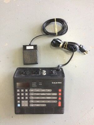 Gralab 900 Electronic Timer W/ Foot Switch 560 Great Condition