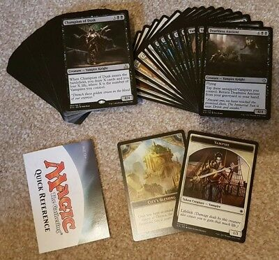 Custom Black/White Vampire Deck • Rivals of Ixalan • MTG • Magic the Gathering
