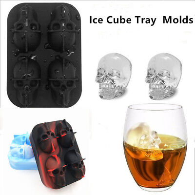 Novelty Chillers Ice Cube Tray Ice Cubes - SKULLS