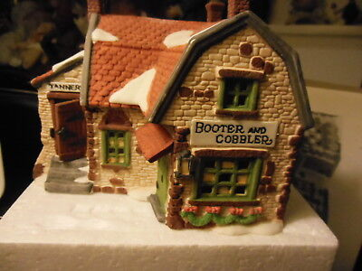 Dickens' Village          Booter And Cobbler  MIB