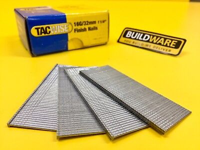 TACWISE FINISH NAILS 16G SERIES (25mm, 32mm, 40mm, & 50mm)