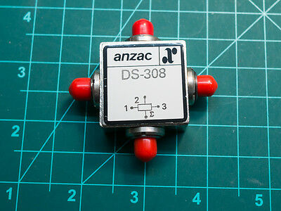 Anzac DS-308 1-300mhz 3 way power splitter sma