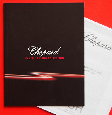 CHOPARD - 2011 Booklet - Classic Racing Collection, Text Englisch, mit Preislist