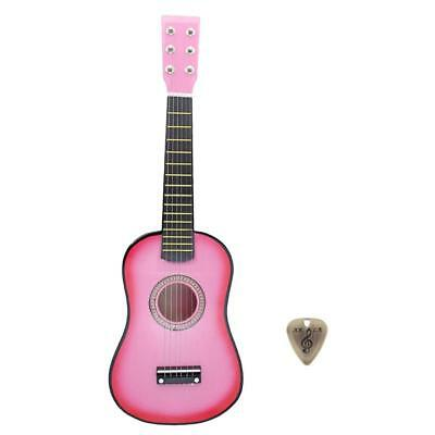 23'' Acoustic Classic Guitar &Pick Kids Student Adult Gift Practice Learning