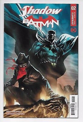 The Shadow Batman #2 - Cover D (DC/Dynamite, 2017) - New/Unread (NM)